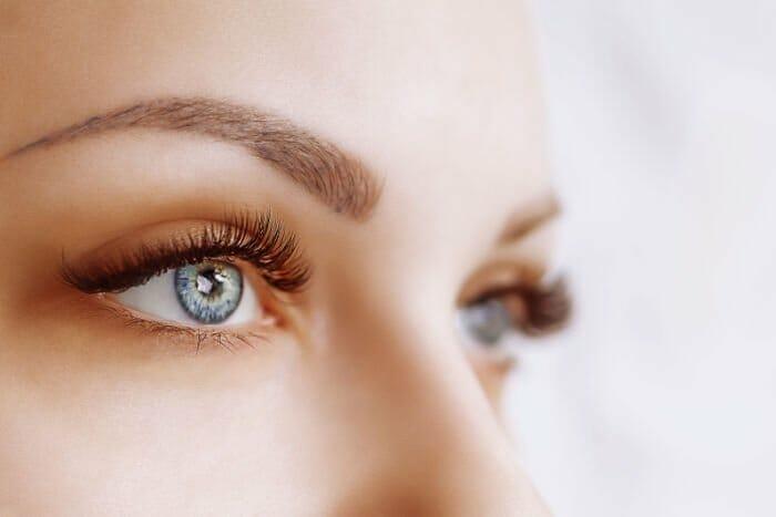 Augen von Frau