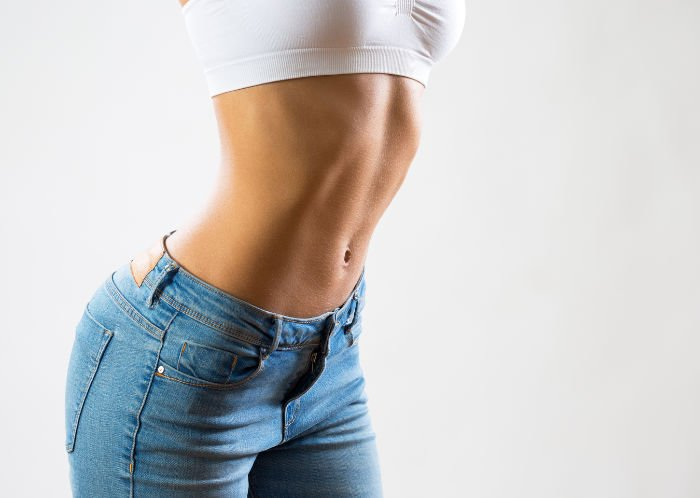 weiblicher Bauch