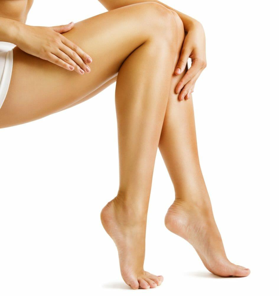 weibliche Beine