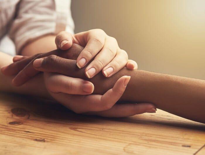 vereinigte Hände
