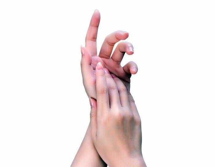 weibliche Hände